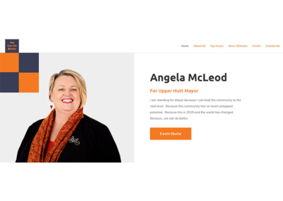 Angela McLeod's Mayoral Campaign Website