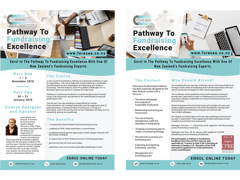 Foresee Communications Course Brochure