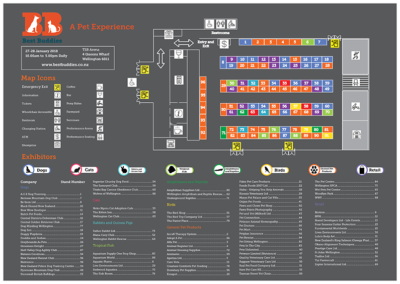 Wayfinding – Best Buddies Event Map