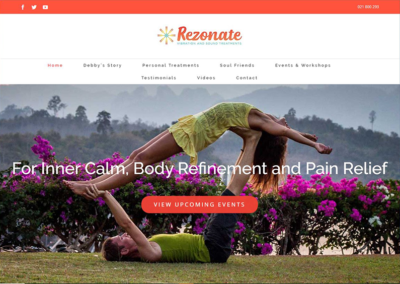 Rezonate Website