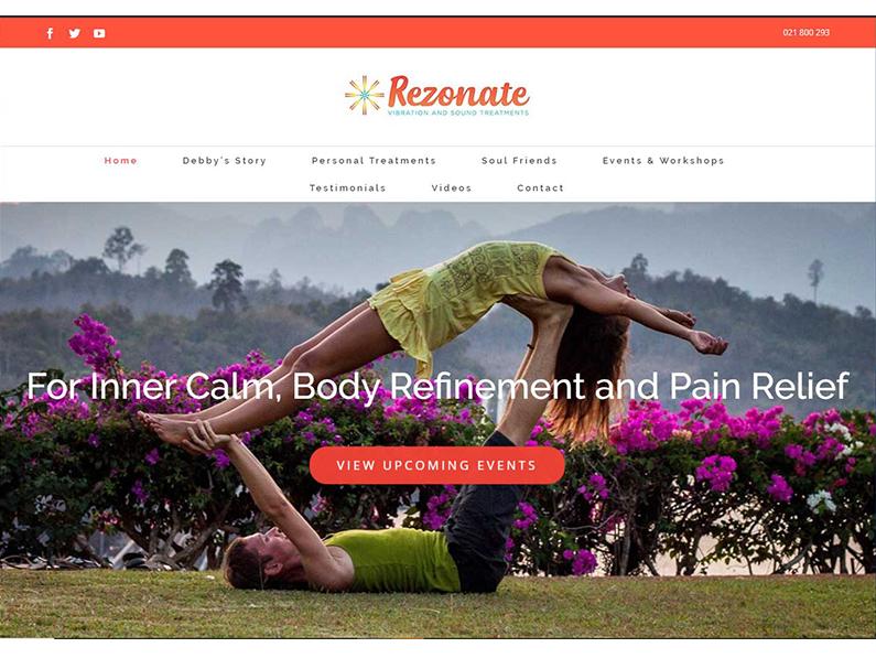 Rezonate Website