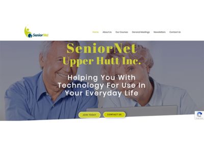 SeniorNet Website